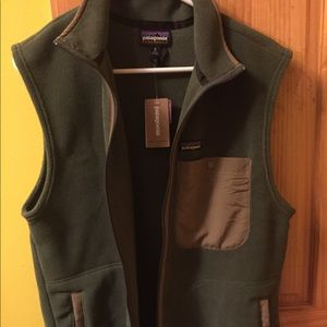 Patagonia Synchilla Industrial Green Vest